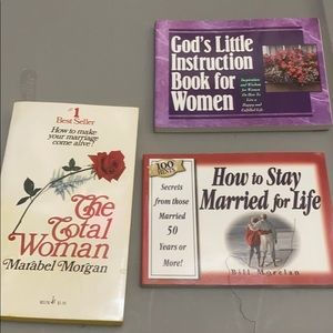 Other - Marriage paperback books a set!